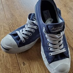 Women's navy blue jack Purcell's